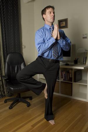 Tree Pose - Innergy Corporate Yoga Inc.