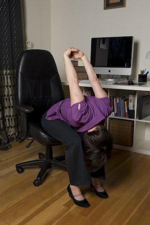 Seated Forward Bend with Arm Extension