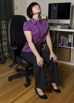 seated cat / cow  innergy corporate yoga inc